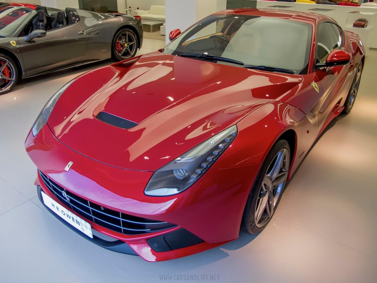 Ferrari F12 berlinetta in London  PinItForwardUK