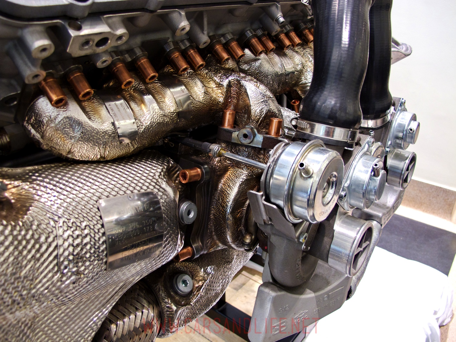 Bugatti Veyron W16 Engine And Gearbox At Hr Owen London