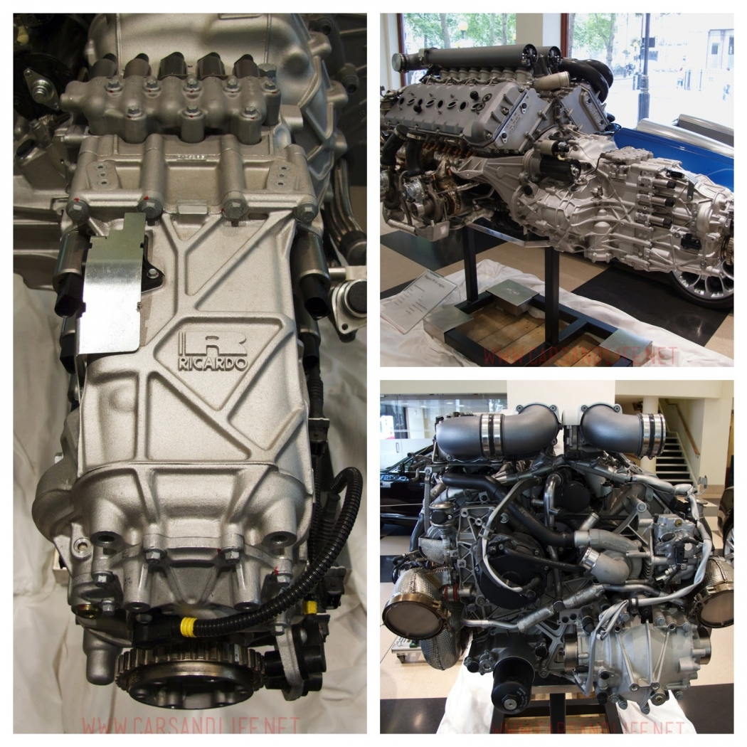 bugatti veyron w16 engine and gearbox at hr owen london. Black Bedroom Furniture Sets. Home Design Ideas