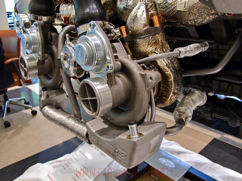 Bugatti Veyron W16 Engine And Gearbox At Hr Owen London Diagram 5