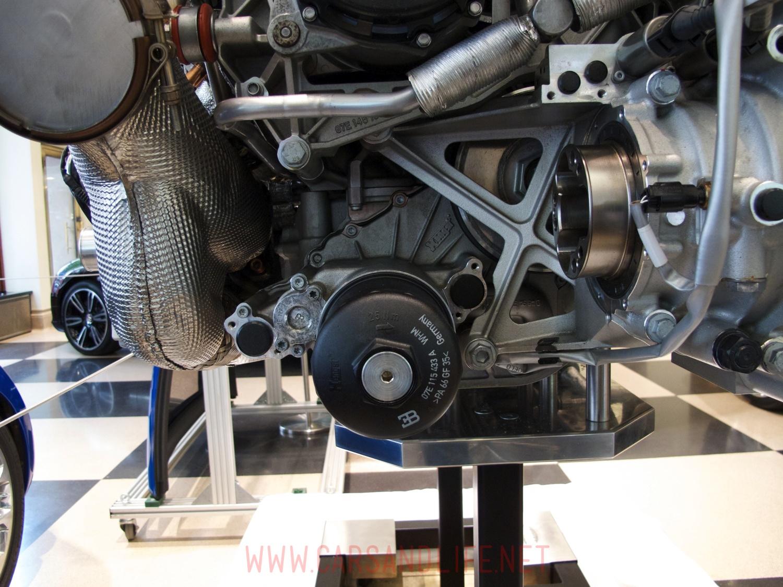 Bugatti Veyron W16 Engine And Gearbox At Hr Owen London Diagram 7