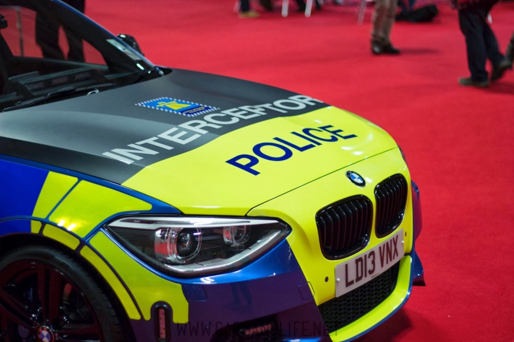 Autosport International 2014 #asi14 | West Midlands Police Cars McLaren MP4-12C, BMW i3 and 1-Series