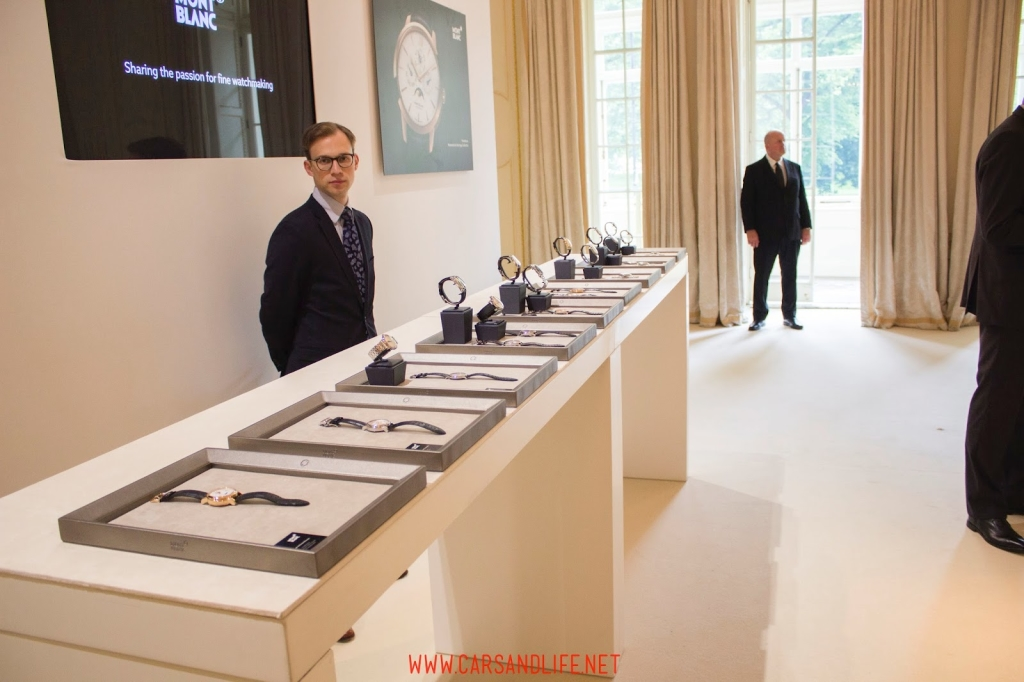 montblanc black and white event in london 62