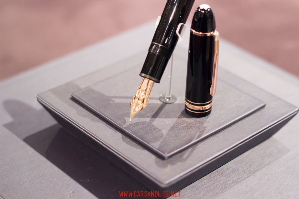 montblanc black and white event in london 9