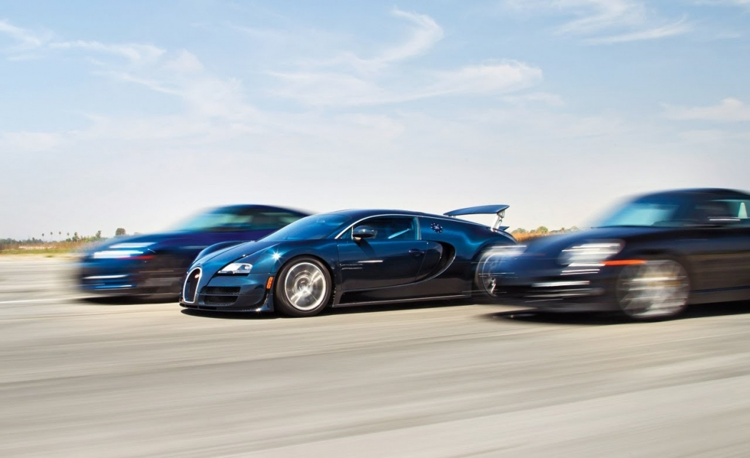 bugatti veyron vs porsche 911 turbo s vs nissan gtr. Black Bedroom Furniture Sets. Home Design Ideas
