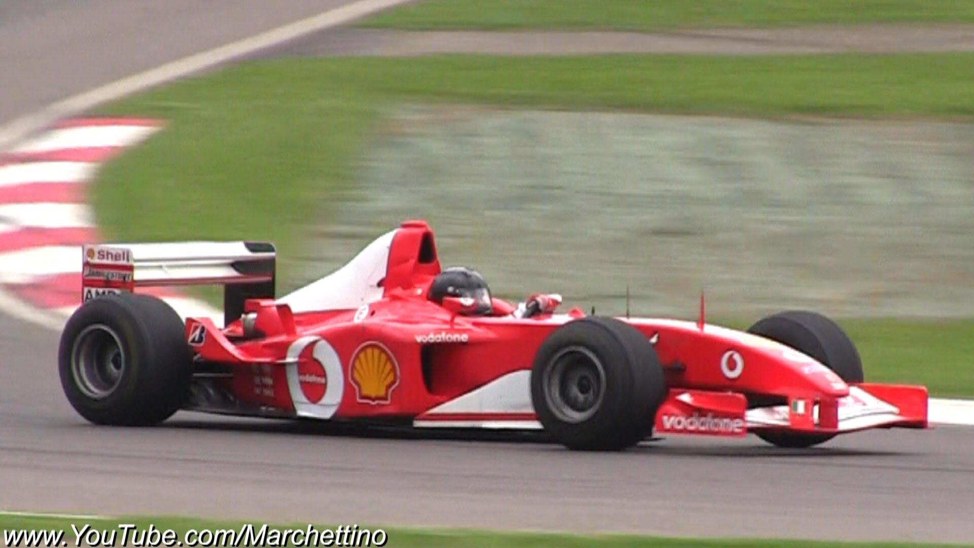 Formula 1 Engine Sounds V6 vs  V8 vs  V10 vs  V12 - cars