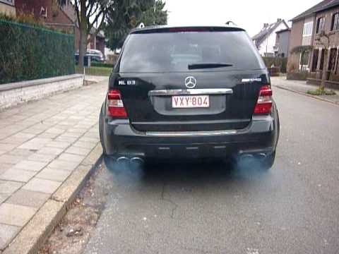 Mercedes ML63 AMG Blue Smoke from Exhaust! & Mercedes ML63 AMG: Blue Smoke from Exhaust! - cars u0026 life | cars ...