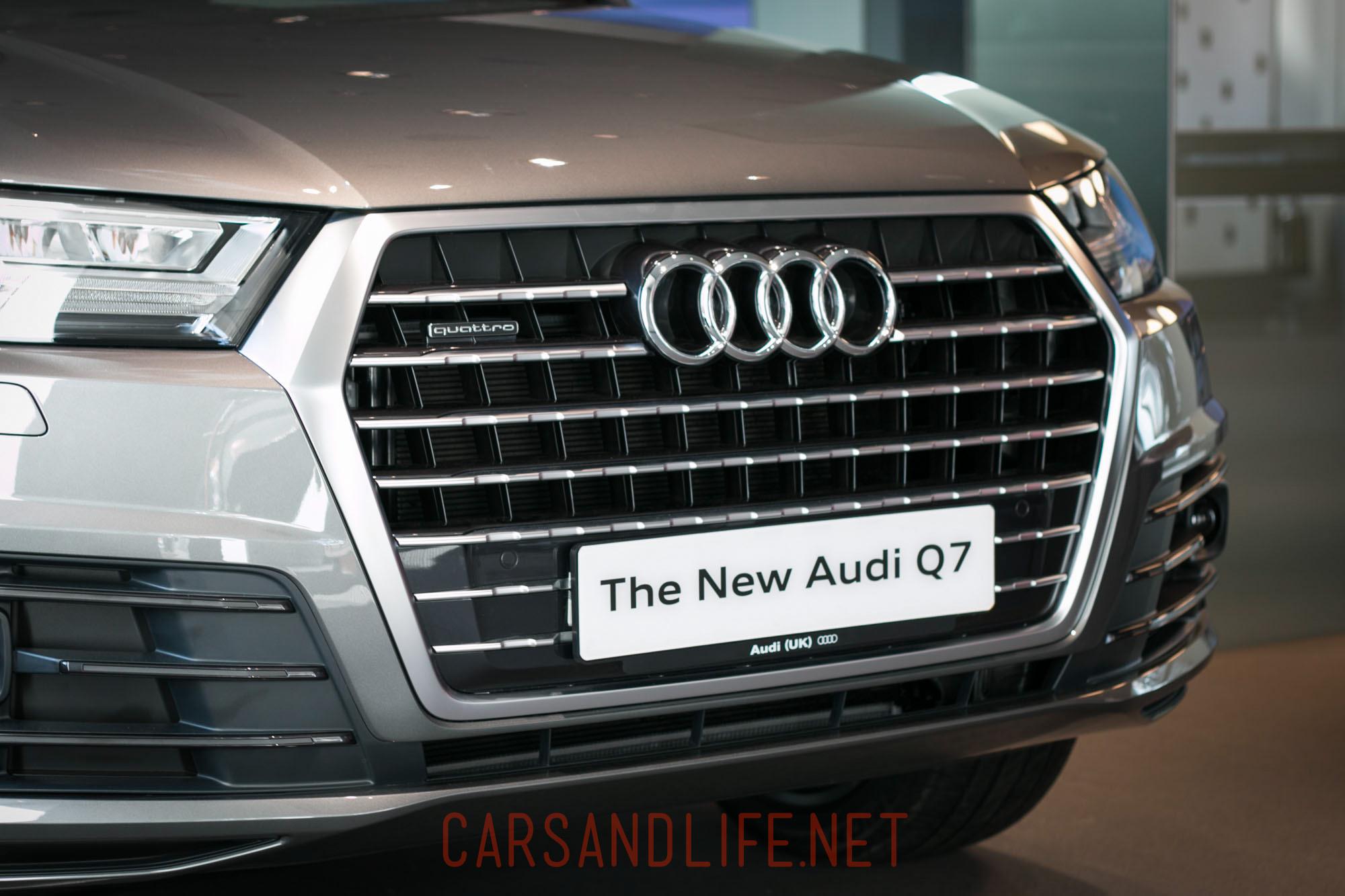 The New Audi Q7 Second Generation