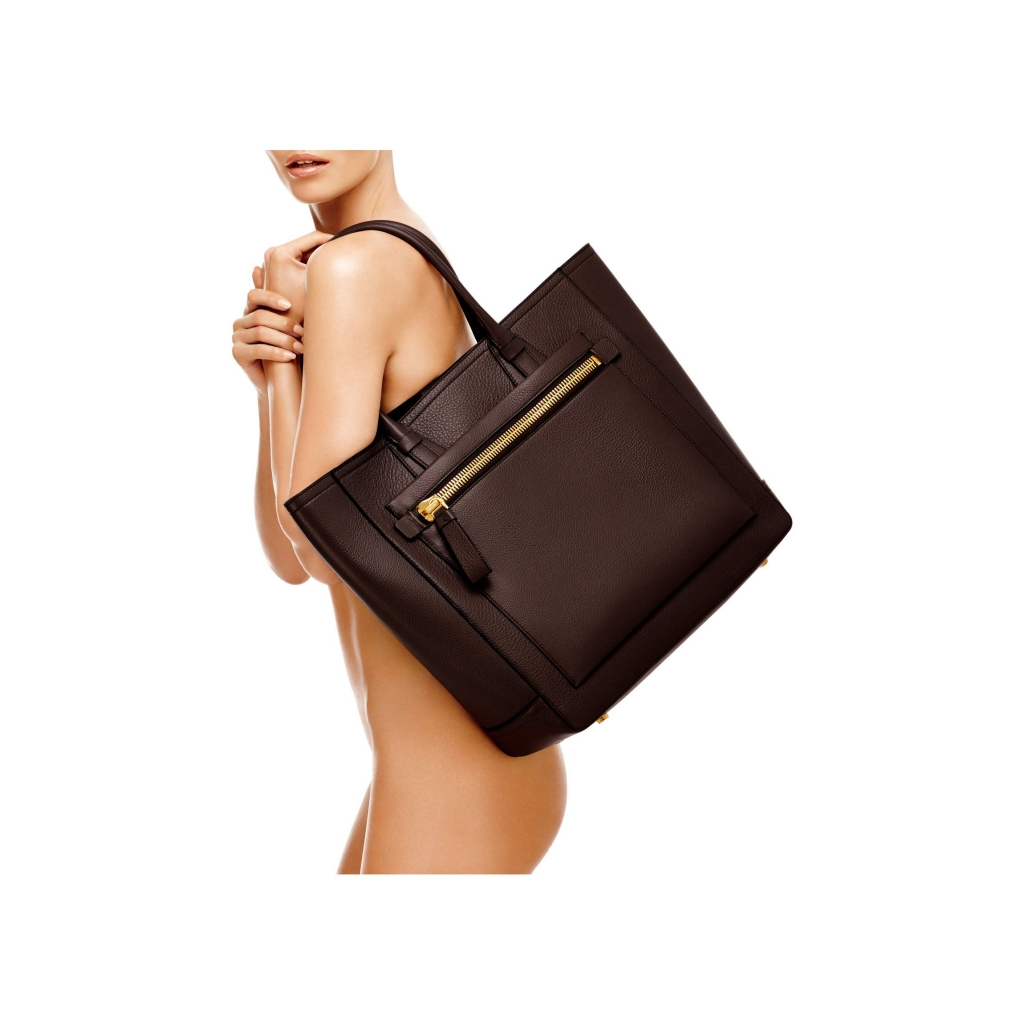 Tom Ford Tote Handbag Brown