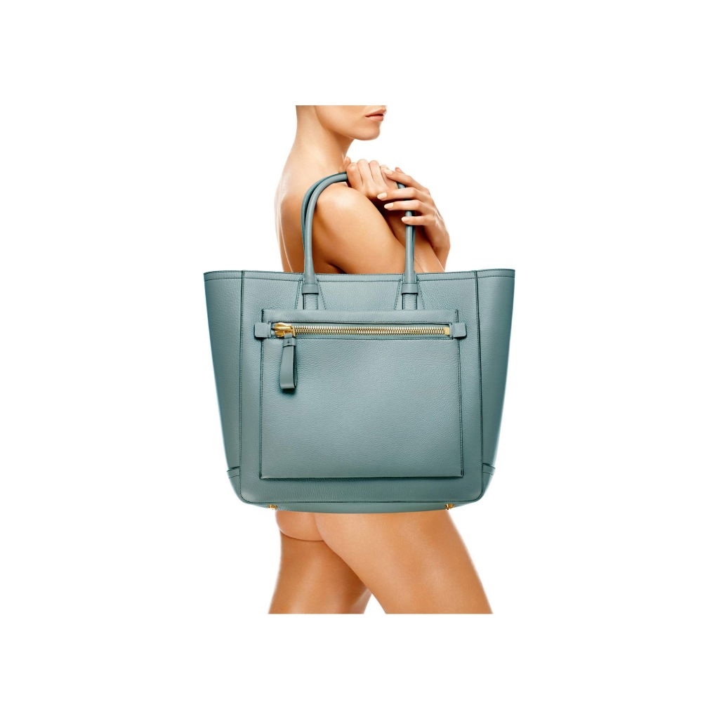 Tom Ford Tote Handbag Cloud Blue