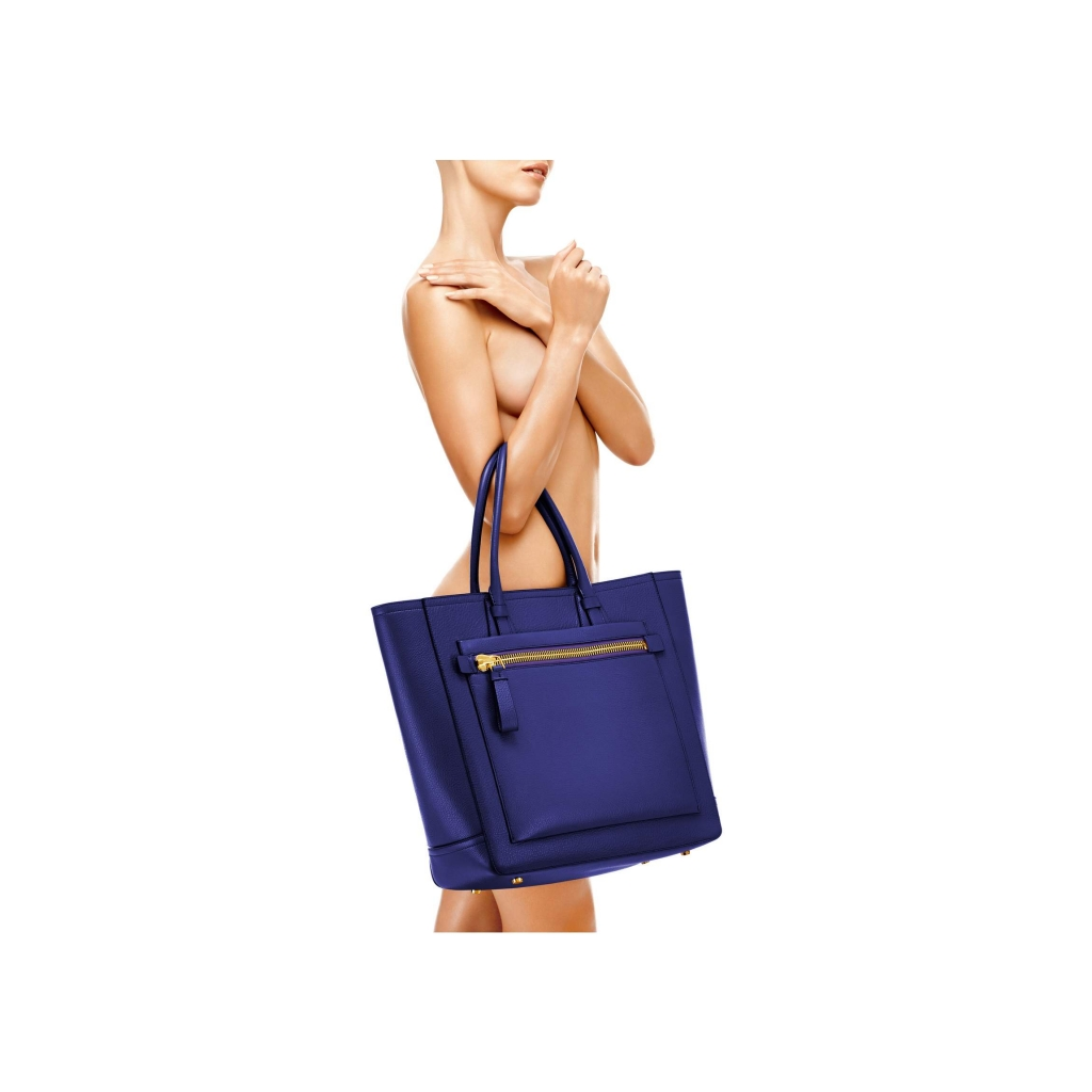 Tom Ford Tote Handbag Cobalt