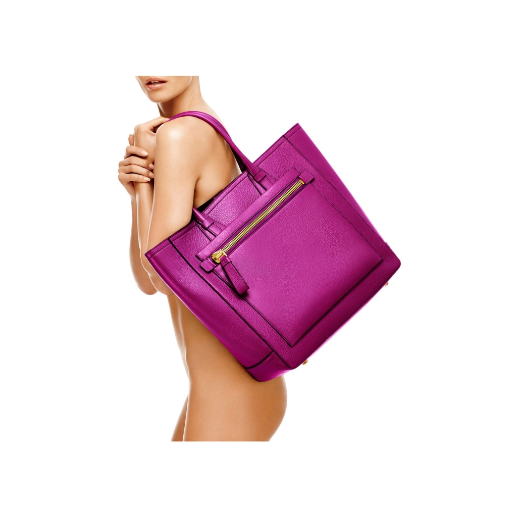 Tom Ford Tote Handbag Magenta