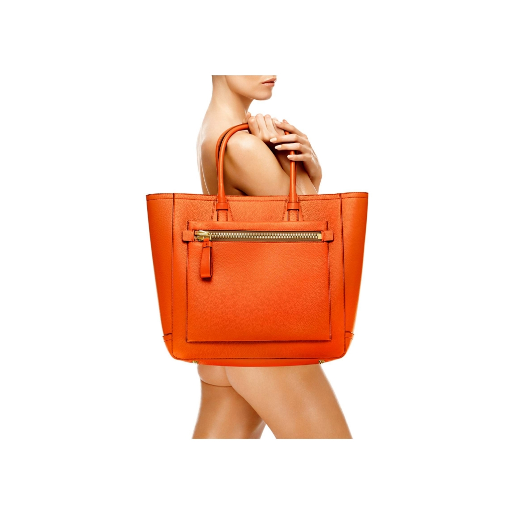 Tom Ford Tote Handbag Orange