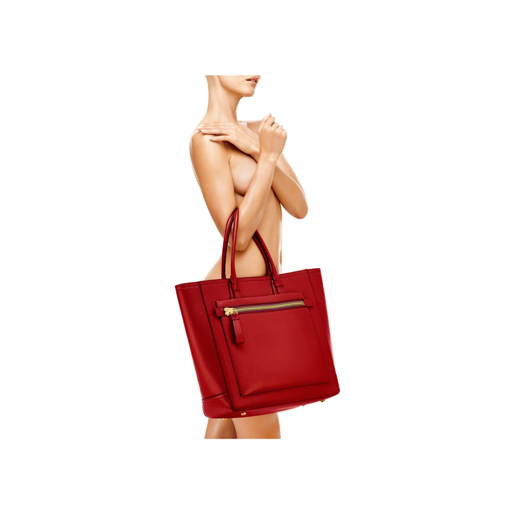 Tom Ford Tote Handbag Ruby