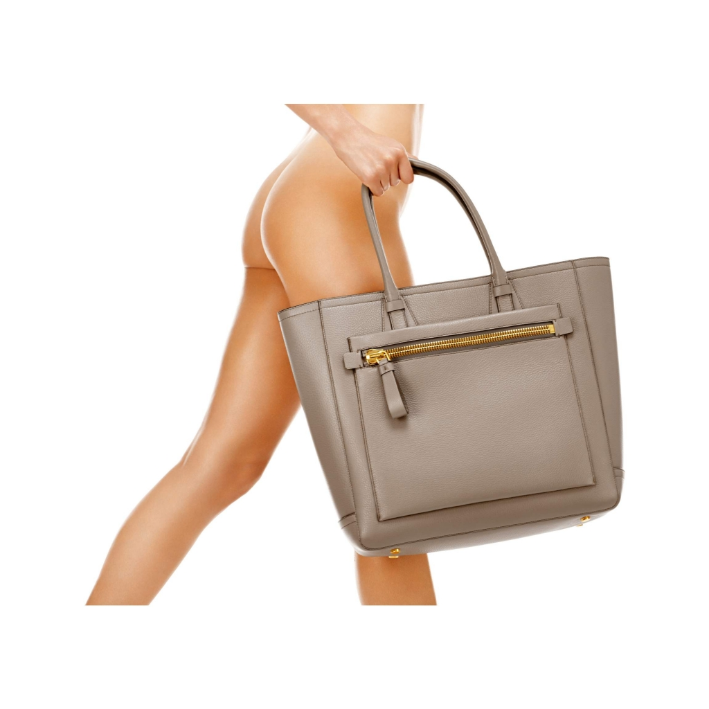 Tom Ford Tote Handbag Warm Taupe
