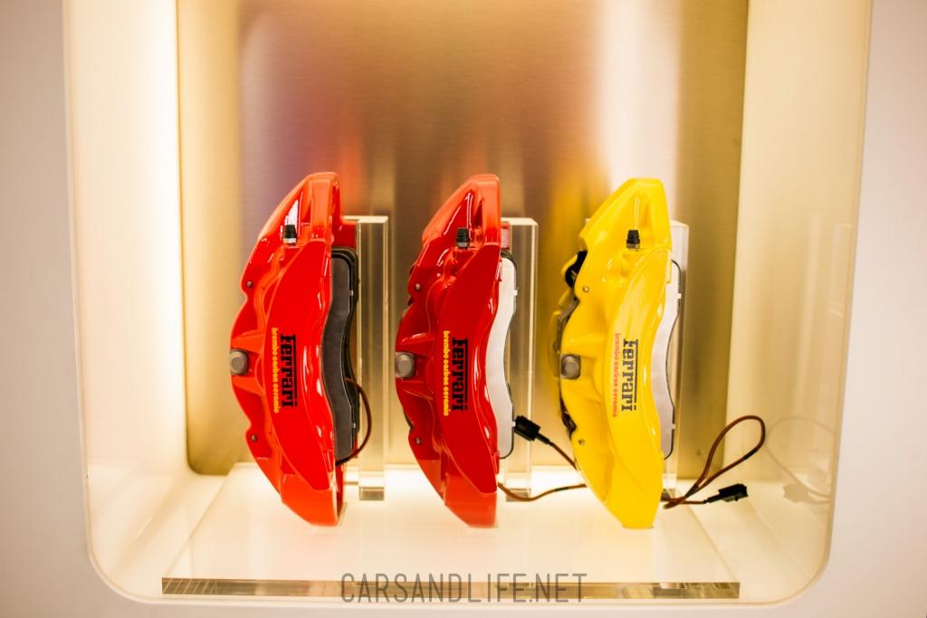 Ferrari Brake Calibers