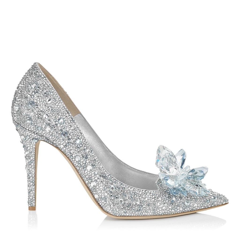 Jimmy Choo Cinderella Slippers Heels 85mm