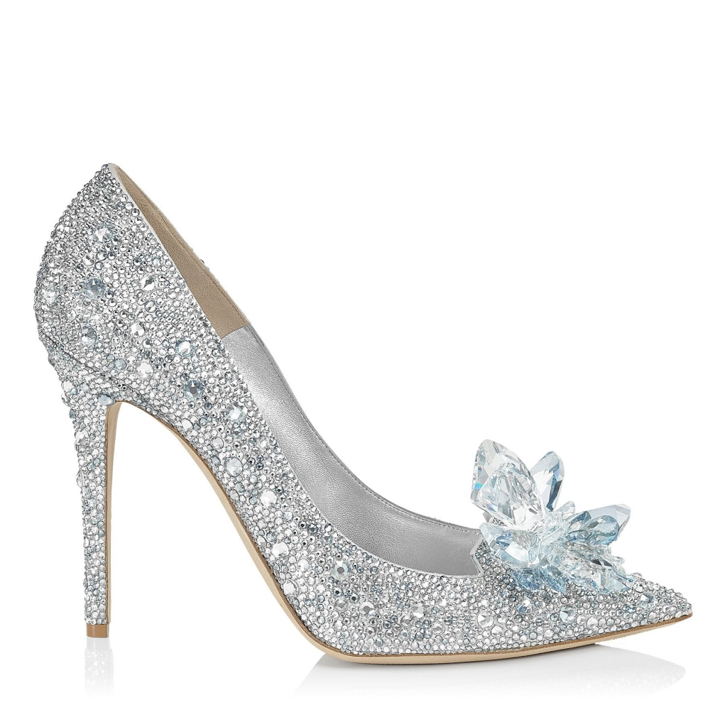 Jimmy Choo Cinderella Slippers Heels 110mm