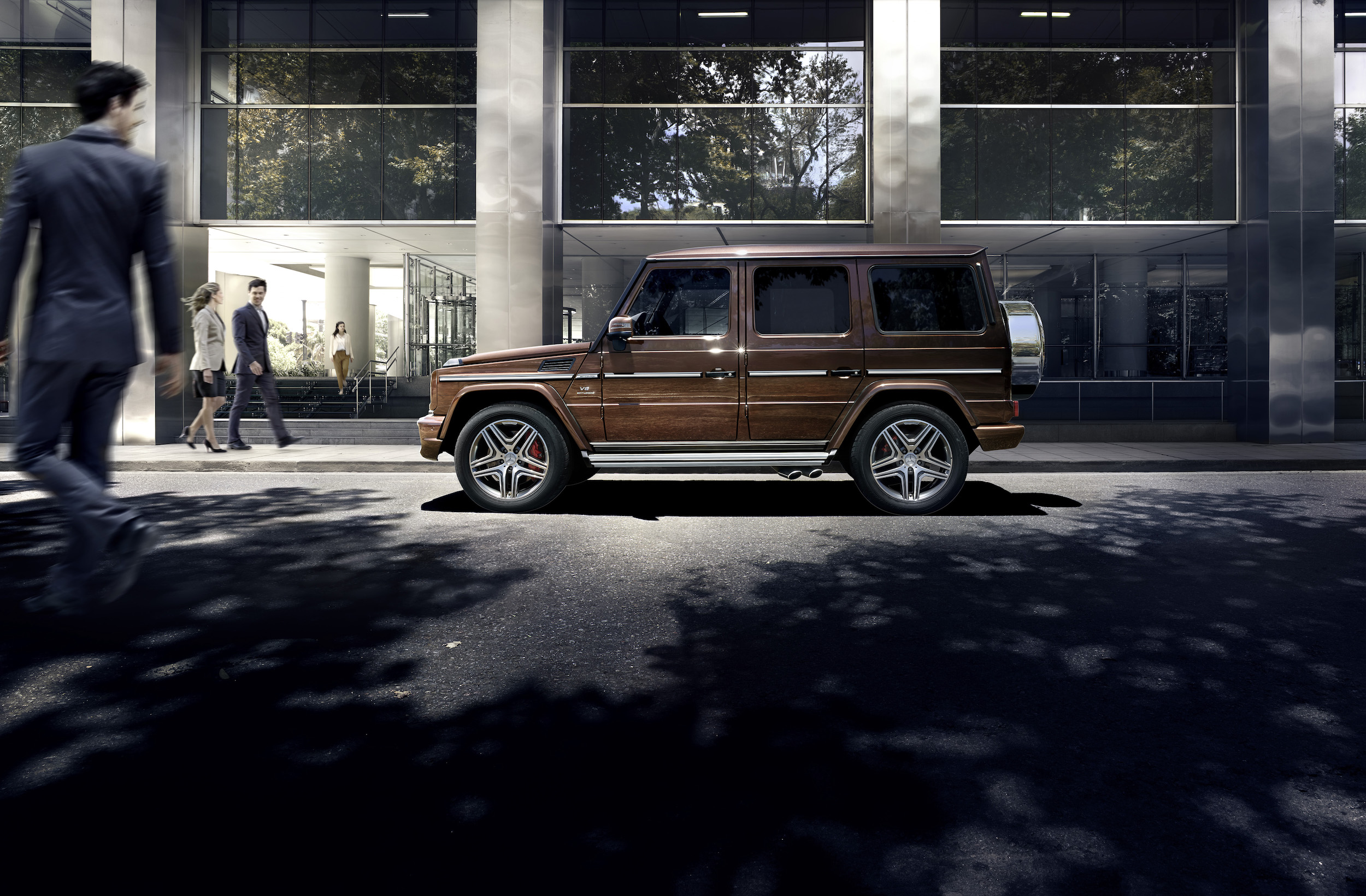 Mercedes benz g wagon facelift for Mercedes benz g class pictures