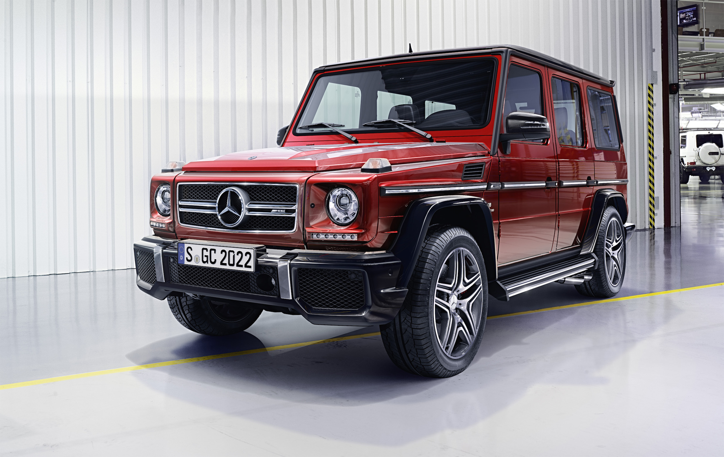 mercedes-benz g-wagon facelift