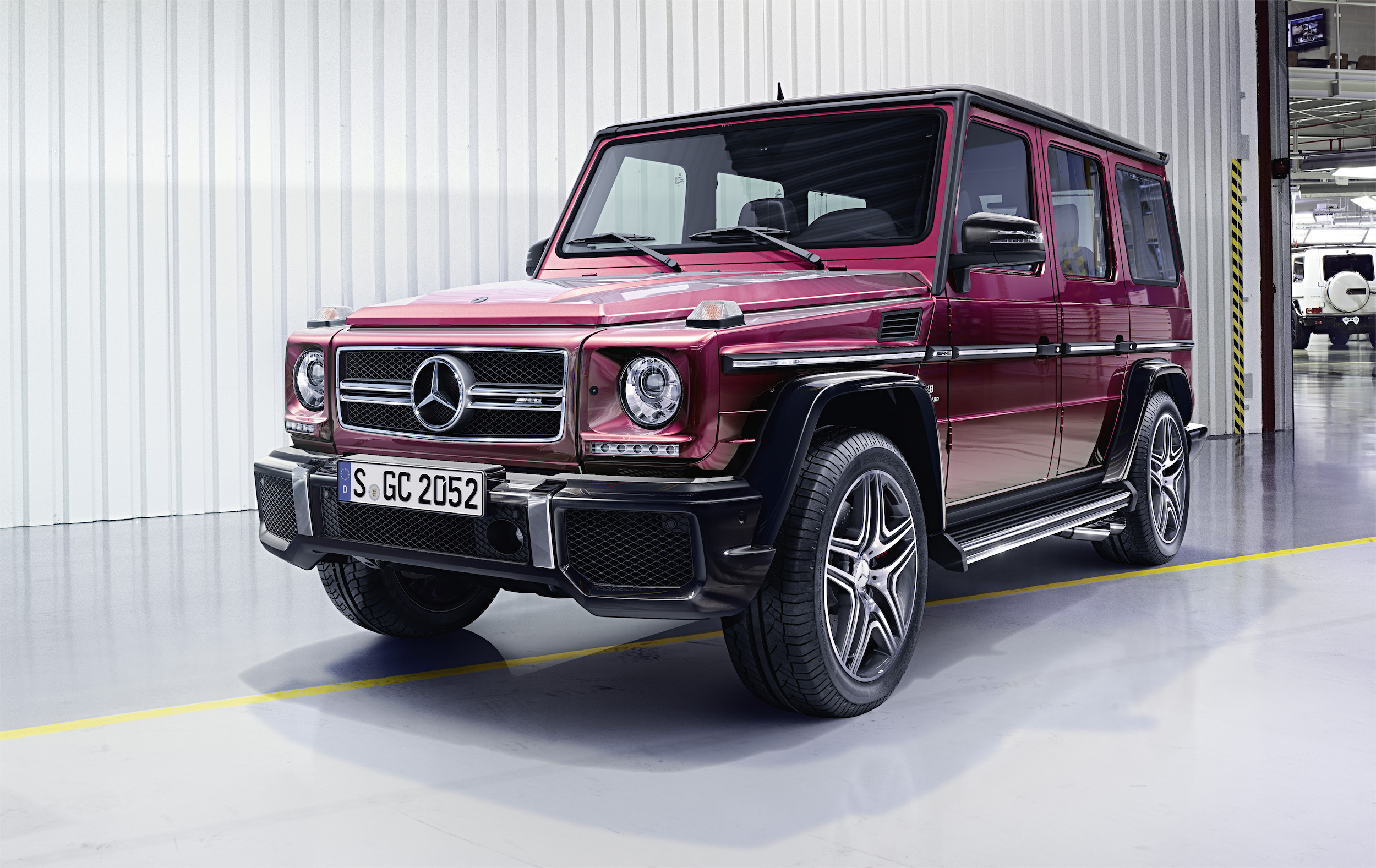 Mercedes benz g wagon facelift for Mercedes benz g class amg
