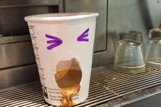 Depressed Coffee Machine
