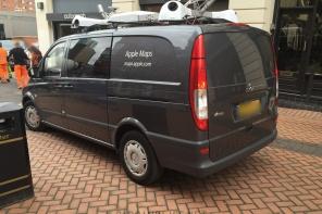 Apple Maps Vans in Birmingham, England
