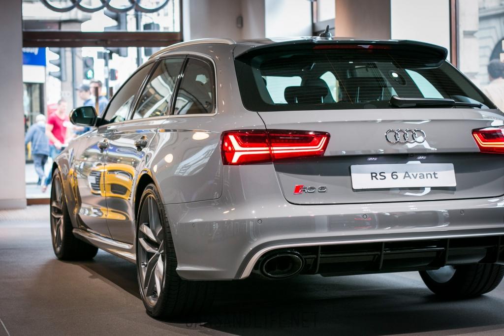 Audi RS6 Mayfair, London