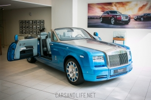 Rolls-Royce Phantom Coupe Drophead Waterspeed Facts and Photos