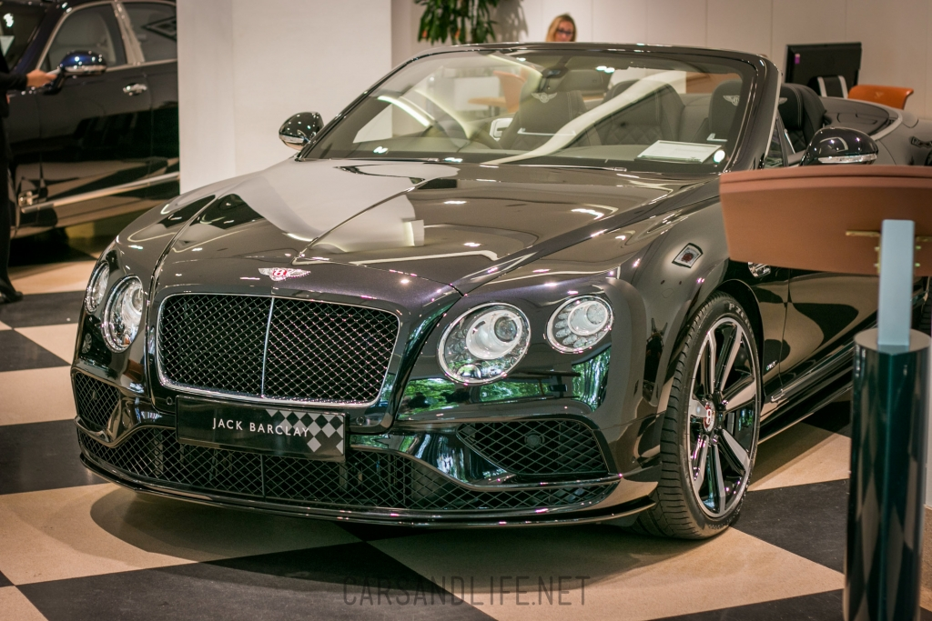 Bentley Continental GT Convertible Facelift