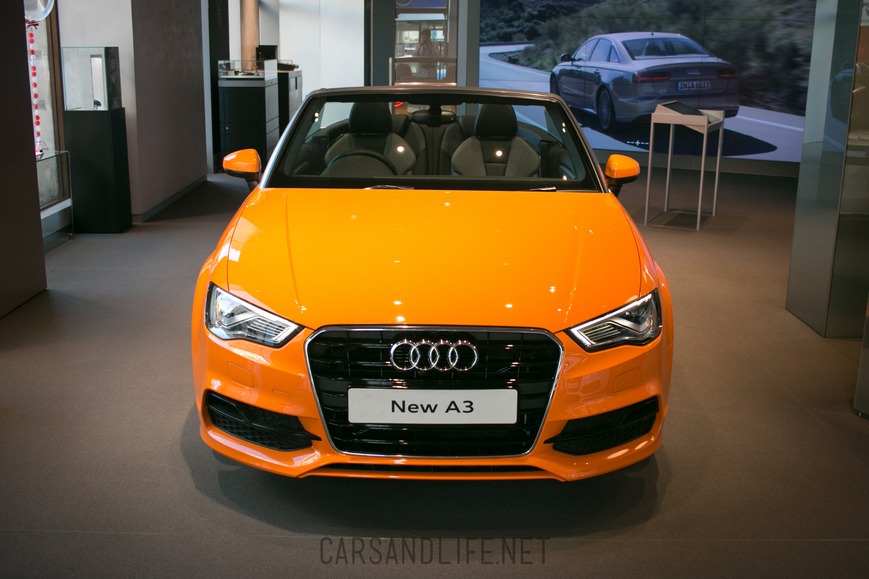 Orange Audi A3 Convertible Orange Is The New Black