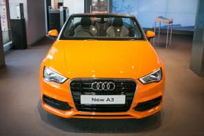 Orange Audi A3 Convertible | Orange is the New Black