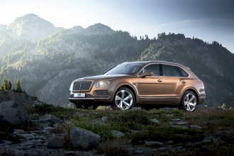 Bentley SUV Bentayga
