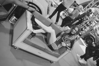 Lauren high heels autosport 2016