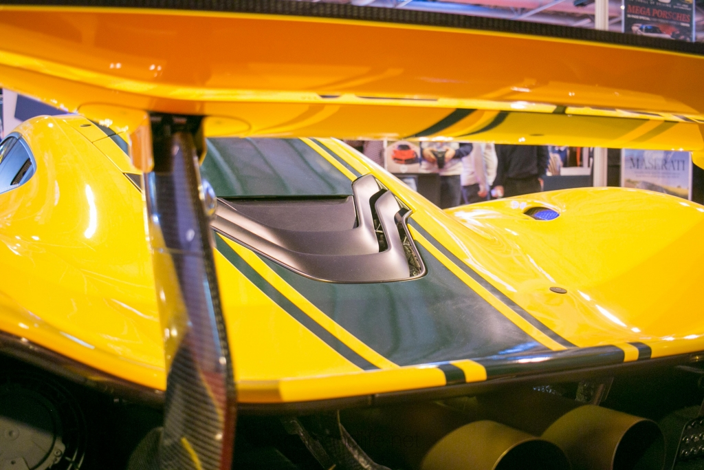 McLaren P1 GTR at Autosport International 2016