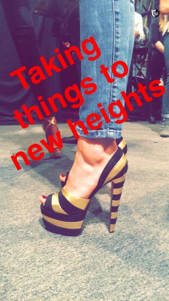 Christian Louboutin Snapchat