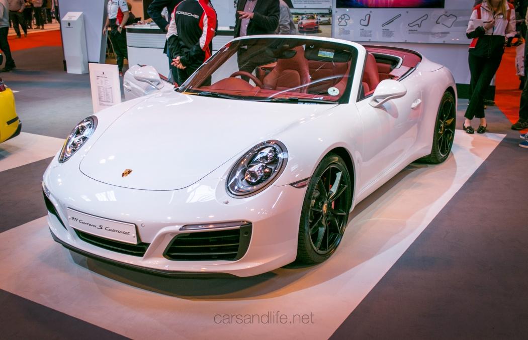 New Porsche 911 Carrera S Cabriolet At Autosport 2016