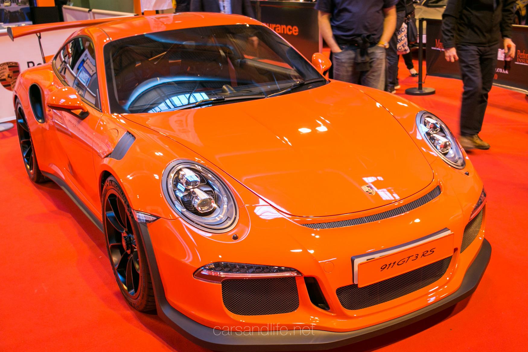 porsche 911 gt3 rs at autosport international 2016. Black Bedroom Furniture Sets. Home Design Ideas