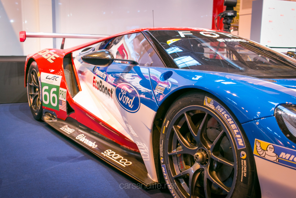 Ford GT WEC Racer Autosport Intertional 2016