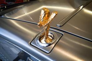 Rolls Royce Gold Spirit of Ecstasy