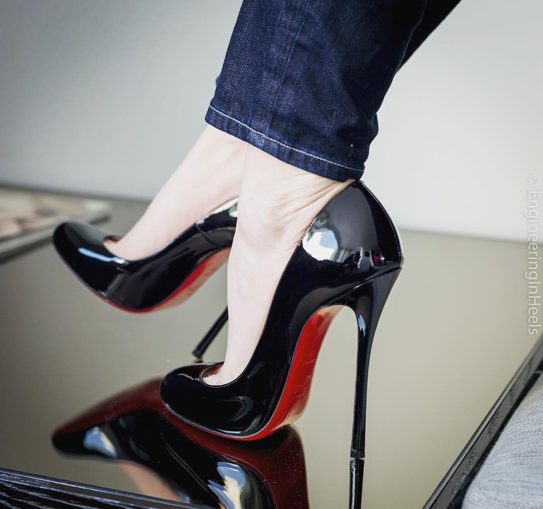 60d17bd27be2 Christian Louboutin Merci Allen 130 mm Heels from EngineeringinHeels
