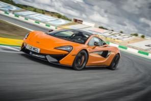 McLaren 570S Won Red Dot Design Award