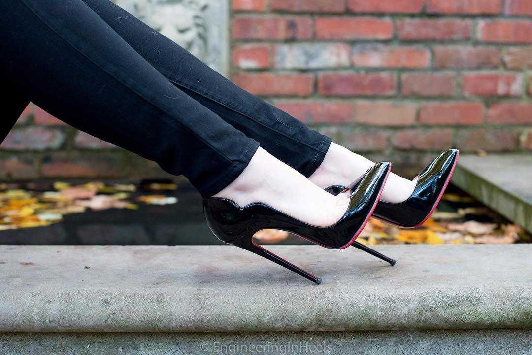 be5df3140c1 Christian Louboutin 130mm Hot Chick Heels of EngineeringInHeels