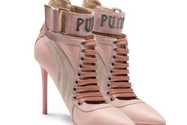 Puma by Rihanna Lace up Heels 1
