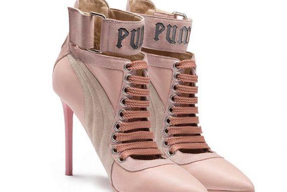 Puma by Rihanna Lace up Heels 1