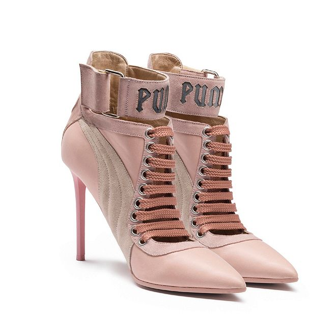 best service da60b a78a4 Puma by Rihanna Lace Up Heels - Trainers - cars & life blog