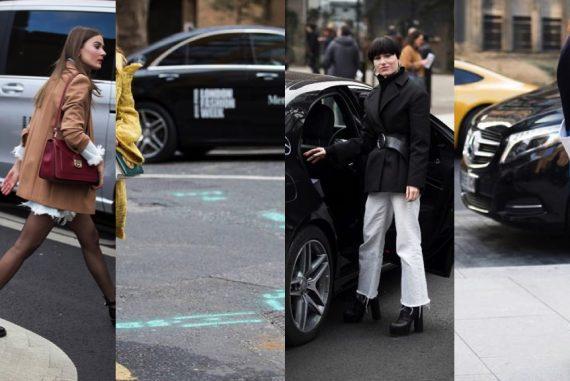 Mercedes-Benz London Fashion Week Street Style 2017