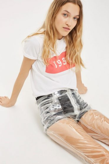 Topshop Transparent Jeans