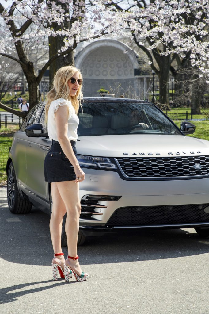 Range Rover Velar and Ellie Goulding