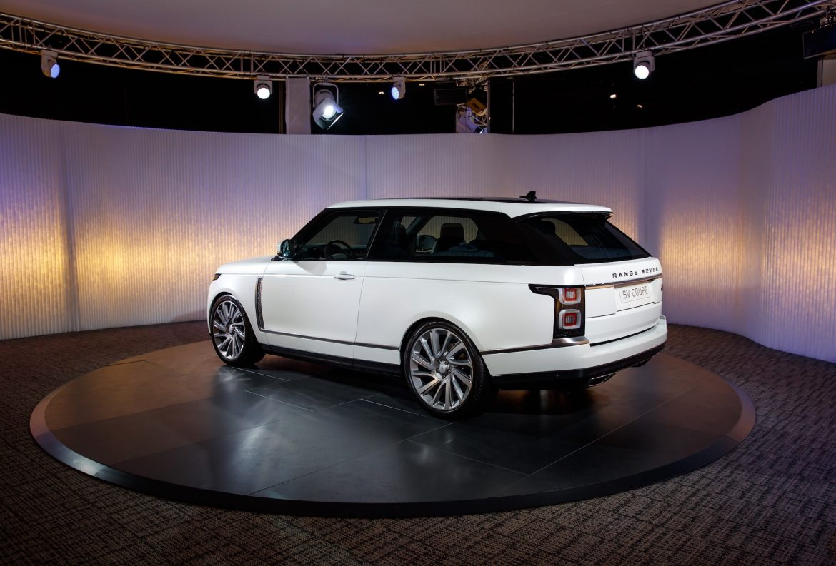 new range rover sv coupe cars life cars fashion lifestyle blog. Black Bedroom Furniture Sets. Home Design Ideas